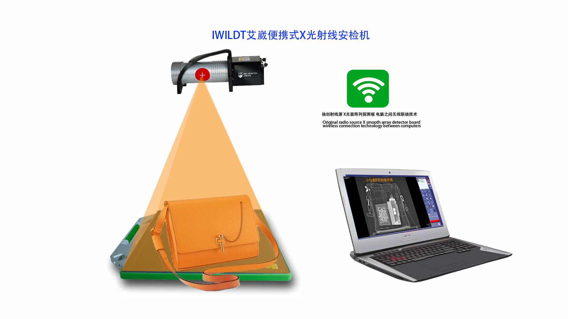 IWILDT 4335便携式安检机英文版使用说明