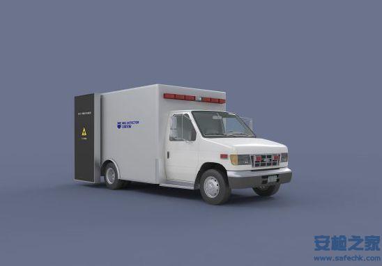 车载式大型线阵列背散射X光子计数成像扫描安全检查设备
