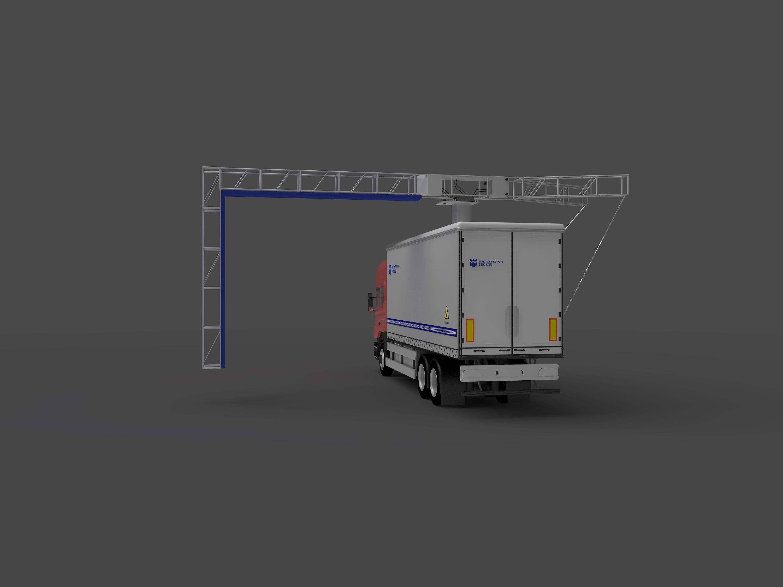 IWILDT™ AN-48002800M车载移动式汽车集装箱安检机]