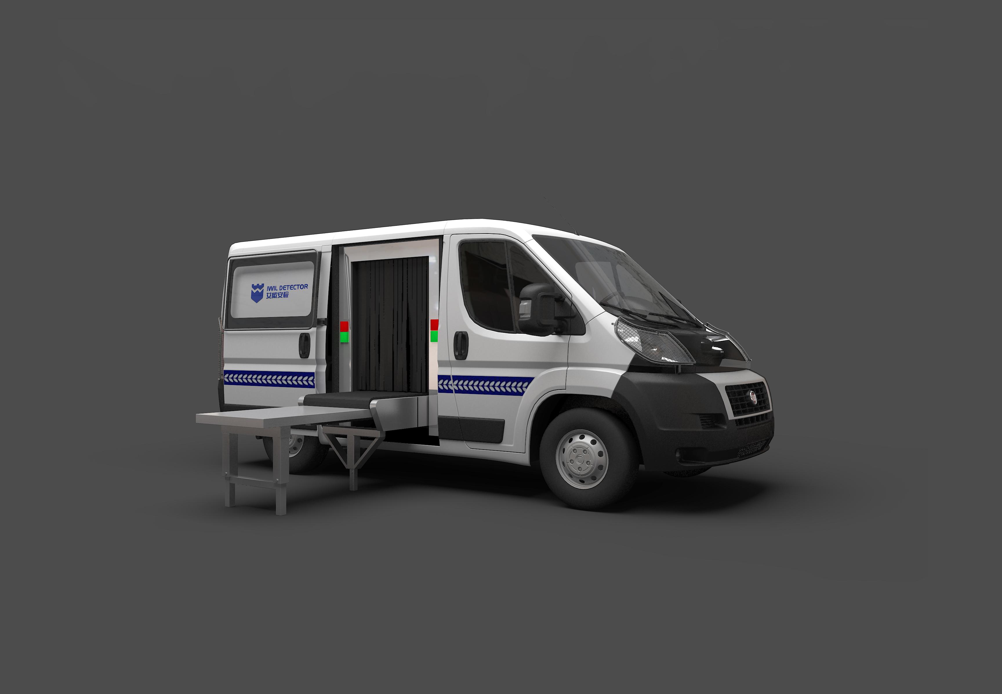 IWILDT™ AN-100100M车载移动式安检机]