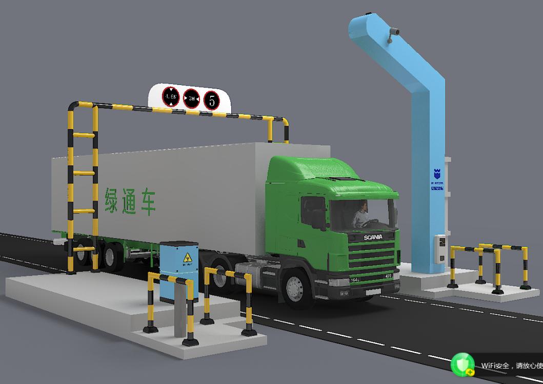 IWILDT™ AN-47002800高速公路绿通检查系统