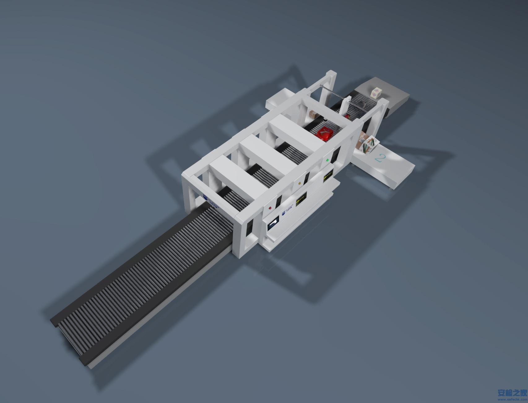 IWILDT™-AN 100110SH邮政快递分练线高速X光天博官方机