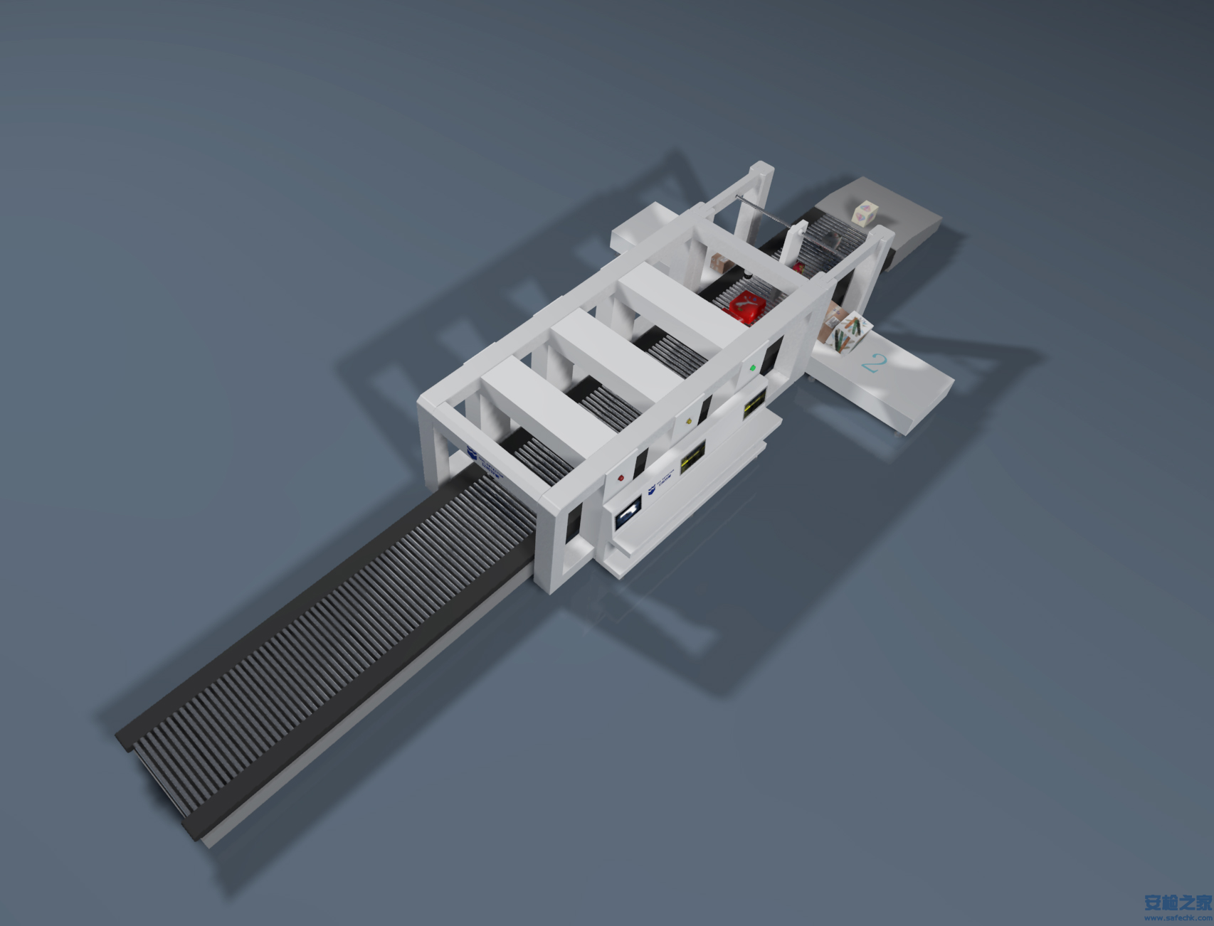 IWILDT™-AN 100110SH邮政快递分练线高速X光安检机