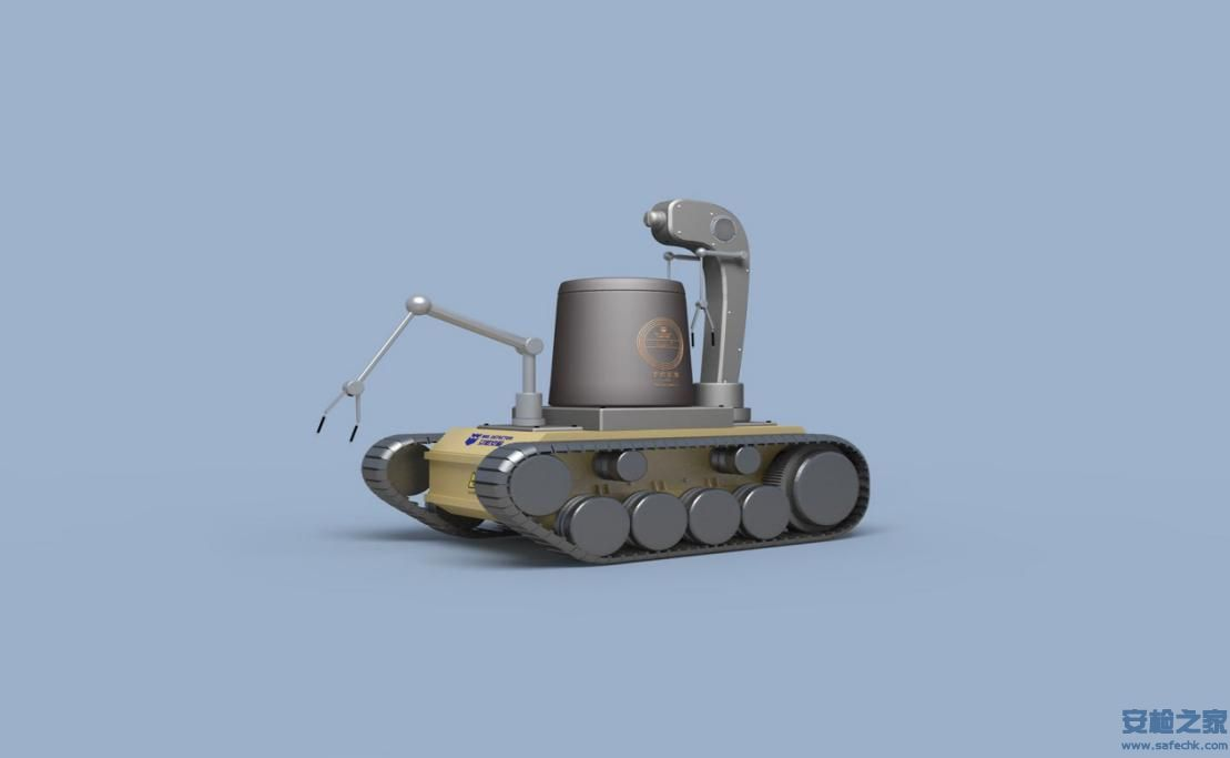 IWILDT™-2315X光机器视觉排爆机器人]