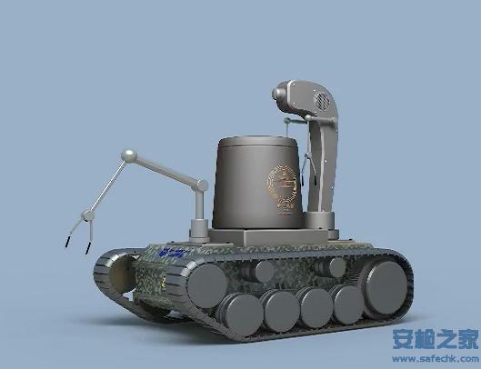 IWILDT™-2325X光机器视觉多功能排爆机器人