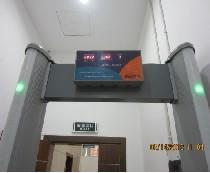 圆柱形便携式安检门 型号:YZ-2011]