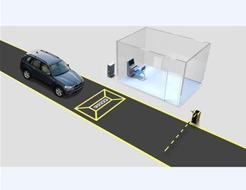 智敏ZM-WS2000B车底安全检查扫描系统
